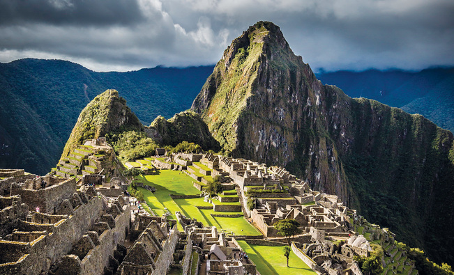 Oustanding Aerial View Of Machu Picchu