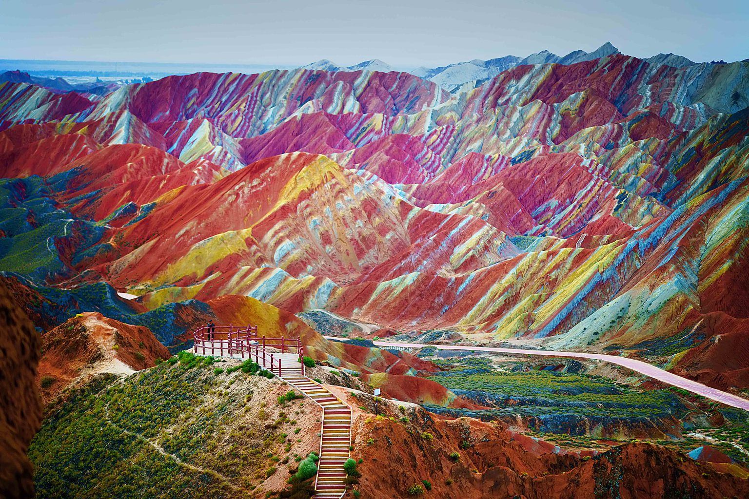 Amazing Zhangye Danxia Landform In China