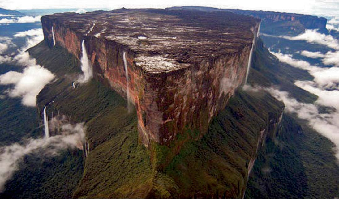Sea Of Cloud At Mount Roraima, Venezuela